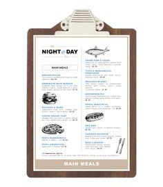 Night & Day Bar on Behance