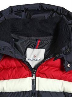 moncler - kids-boys - down jackets - aymond nylon down bomber jacket