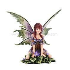 "*New* 2013 Amy Brown Fantasy Wild Violet Faery Mushroom Fairy Statue Enchanted 6""h Figurine Pacific Giftware http://www.amazon.com/dp/B00E4WXOPI/ref=cm_sw_r_pi_dp_YffVub1STA210"