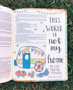 See more of vscoxteenvibes's content on VSCO. Bible Notes, My Bible, Bible Art, Bible Drawing, Bible Doodling, Bible Verses Quotes, Bible Scriptures, Cute Bibles, Bibel Journal