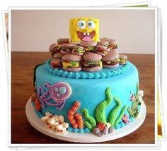 Spongebob birthday cake. Brilliant!