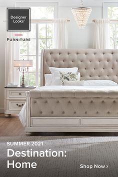 Room Design Bedroom, Bedroom Sets, Home Bedroom, Bedroom Furniture, Bedroom Decor, Cute Bedroom Ideas, Luxurious Bedrooms, New Room, Room Inspiration