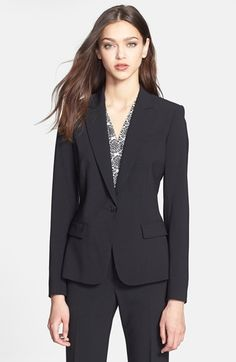 stretch wool blazer | #sale #nordstromsale @nordstrom