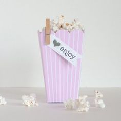 Popcorn Boxes + lots of other cute party supplies