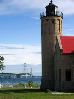 lighthouse | While in Mackinaw City visit Old Mackinac Lighthouse and nearby Great ...