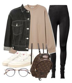 """Untitled #22335"" by florencia95 ❤ liked on Polyvore featuring Reebok, Topshop, Louis Vuitton and Garrett Leight"