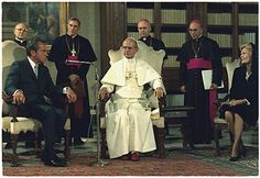 Richard M. Nixon at the Vatican meeting with Pope Paul VI, on Sept. 29, 1970. (Credit: Wikimedia Commons.)