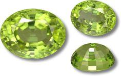 A 5.88 carat peridot from Burma