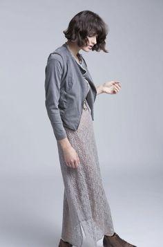 קווים נשיים עם חספוס: קולקציית חורף 14 של אלף אלף - וואלה! אופנה