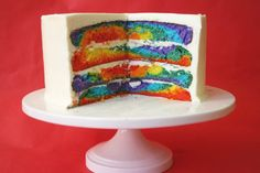 Tye Dye Cake!  Made this and it was sooo easy and worked really well!!!