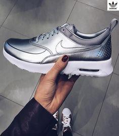 online store 0ef0f 7c811 Sneakers women - Nike Air Max Thea silver (©anniisophie) Calzado Deportivo,  Ropa