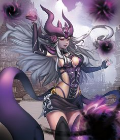 league-of-legends-sexy-girls:  Syndra