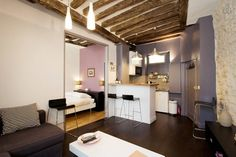 Check out this awesome listing on Airbnb: from 95E/n 1br old cosy /Eiffel tw in Paris