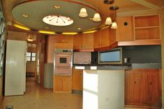 Spartan mobile home 1950 spartan carousel for sale kitchen close up