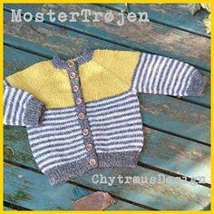 #babystrik #nååårh MosterTrøjen er færdig og sendt til familiens sidste nye lækre unge...og jeg har lavet opskrift til den! #strik #strikke #strikketøj #knitting #sticka #stricken #breien #lavoroamaglia #chytraeusdesign #ChytræusDesign #chytræus #nørkleriet #nørklerietivanløse #mayflowerknitting #mayflowerstrikkegarn #alpakka