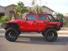 katzkin jeep wrangler unlimited | 09 Unlimited Rubicon Flame Red