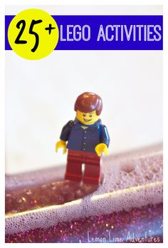 25+ Lego Activities for Hands On Learning and Play. Everything from literacy to social/emotional activities #lego
