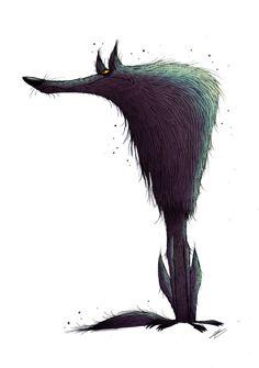 WOLF sketch by GrievousGeneral on deviantART