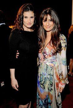 Idina Menzel & Lea Michele