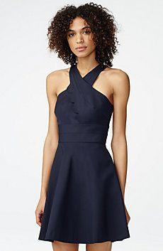 Asymmetrical Scallop Dress