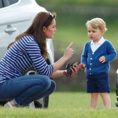 Prince George's no good, very horrible day at the polo - Elle Canada