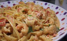Emeril Spicy shrimp in cream sauce