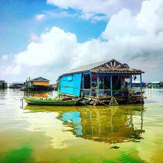 Siem Reap Floating Village. Cambodia