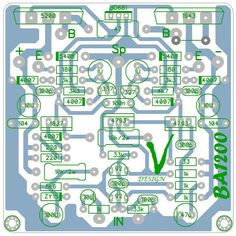 Sharing PCB Power Amplifier, Tone Control Speaker Protector, etc. You can see all about PCB Design of all around the world here: Valve Amplifier, Car Audio Amplifier, Diy Electronics, Electronics Projects, Circuit Board Design, Electronic Circuit Projects, Speaker Box Design, Circuit Diagram, Layout Design