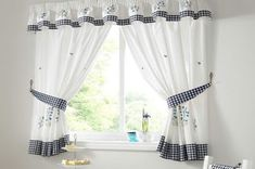 curtain design ideas for small living room colour scheme 37 best curtains images designs modern interior furniture spaces decorating white summer gingham bluebell check kitchen cozy various
