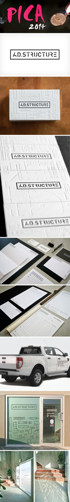 PICA Award winning letterpress business cards and brand identity designed and…