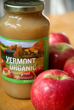 Healthy recipes you can bake up using a jar of applesauce.