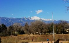 Feb 5, 2012 - Sunday morning view of Pikes Peak in Colorado Springs, right before brunch. Visit my Springs Tourism page on Facebook: https://www.facebook.com/SpringsTourism