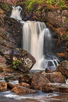 Inversnaid Falls (1)    Inversnaid Falls, Loch Lomond, Trossachs