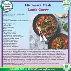 Microwave Recipes, Microwave Oven, Buttermilk Oven Fried Chicken, Curry Recipes, Healthy Recipes, Healthy Life, Healthy Eating, Family Meals, Family Recipes