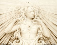 The Song of Sophia by Artist-Andrew Gonzalez creates amazing transfiguration, esoteric and visionary work. All work is pinned directly from the artist website.