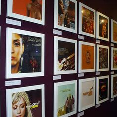 Frame them in album frames and hang them on the wall. Vinyl records often have beautiful cover art that will make your walls pop.