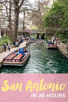 San Antonio is full of history with great sites and everyone is super friendly.
