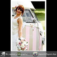 Wedding ideas ... Vintage Ice Cream Van Hire http://www.pollys-parlour.co.uk #icecream #vintage #VW #wedding