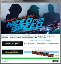 Need for Speed 2015 Free CD KEY