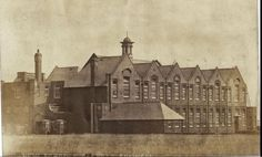 New school, Sea Road, Fulwell Barbary Coast, North East England, Sunderland, Historical Pictures, Durham, Newcastle, History, Places, Painting