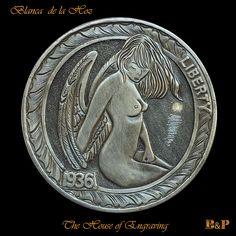 Hobo nickels, carvers Spain, Pedro Villarrubia and Blanca de la Hoz ,