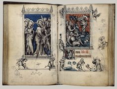 The Hours of Jeanne dEvreux, Queen of France
