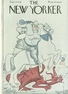 The New Yorker - Saturday, September 12, 1936 - Issue # 604 - Vol. 12 - N° 30 - Cover by : Rea Irvin