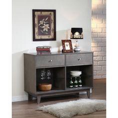 Casa Light Charcoal Buffet | Overstock.com Shopping - Big Discounts on Buffets