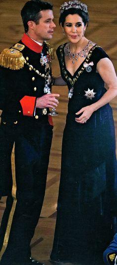 the crown prince & princess of denmark | tiaras and trianon