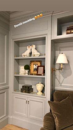 Cabinet Trim, Built Ins, Bathroom Medicine Cabinet, Bookcase, House Design, Shelves, Wall, Home Decor, Cabinets