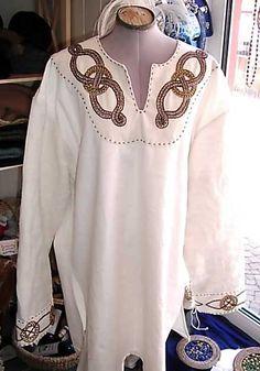 Tunika, Leinen, Handstickerei Tunic, linnen, handmade embroidery