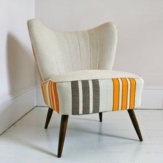 1940S Restored Harriet Cocktail Chair  by Hickey and Dobson