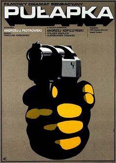 Polish movie poster by Maciej Hibner (1971)