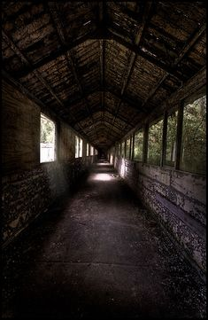 A bit more boarded up than they used to be Land Art, Post Apocalyptic, Corridor, Matilda, Raven, Abandoned, Core, Industrial, Film